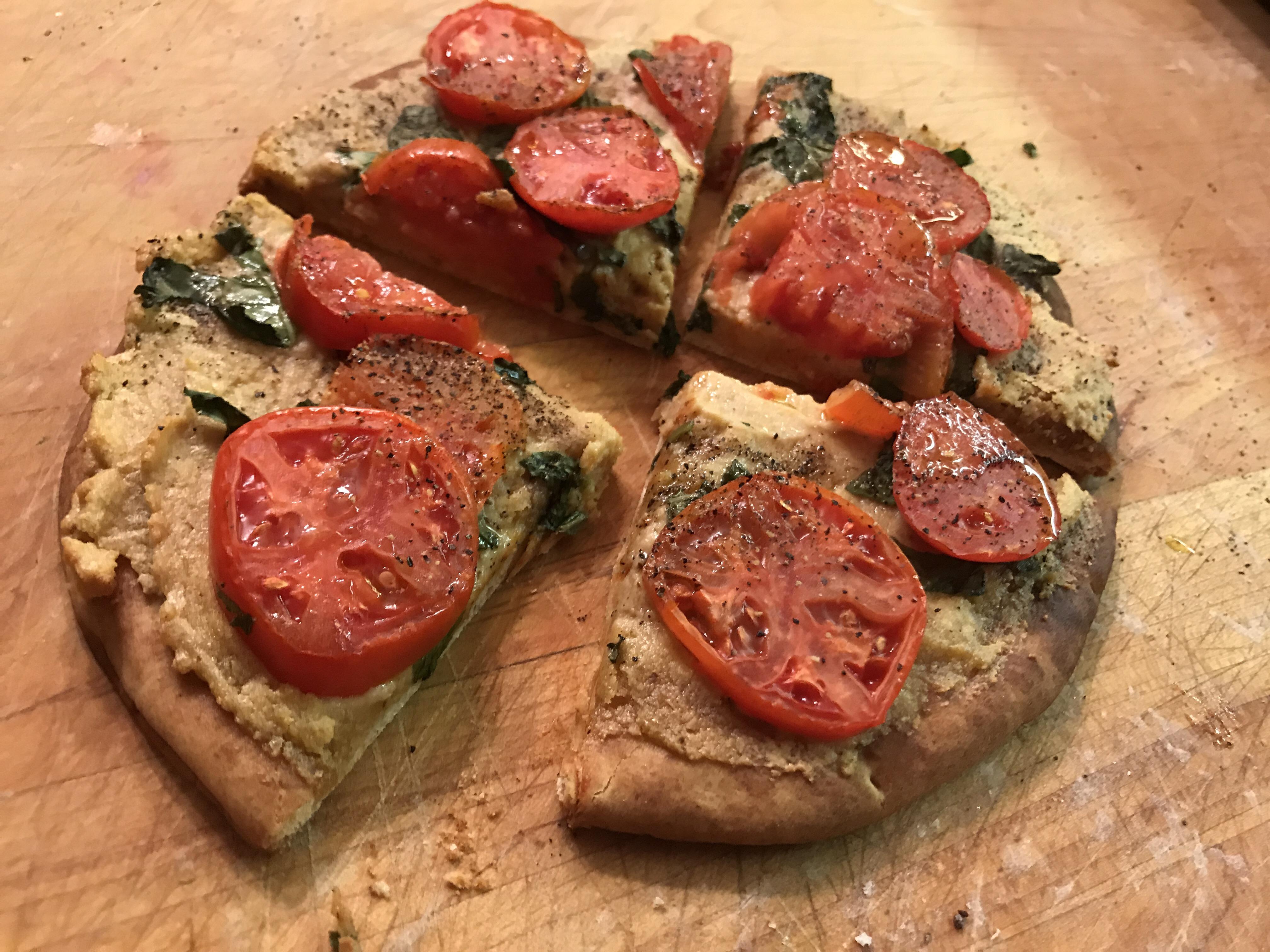 Super Quick Vegan Pizza