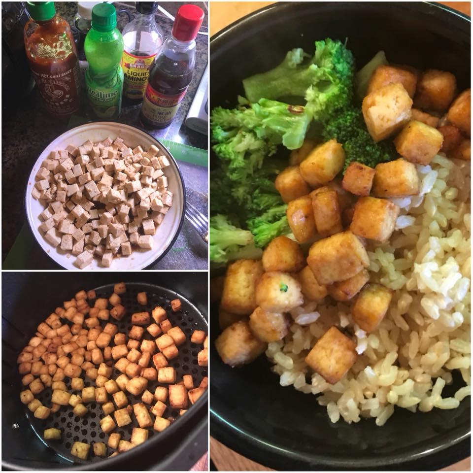 Tofu in the Air Fryer