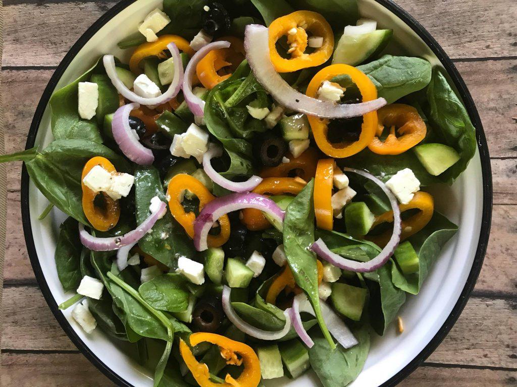 Greek Tossed Salad